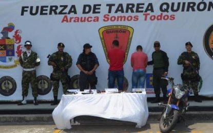 """Capturado segundo hombre al mando de la comisión """"Compañero Tomas"""" del ELN en Arauca"""