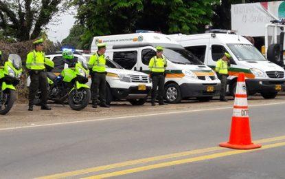 Policía de Carreteras patrulla permanentemente vías de Casanare durante Semana Santa