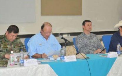 Gobernador de Casanare coincide con Ministro de Defensa que ha mejorado la seguridad en el departamento