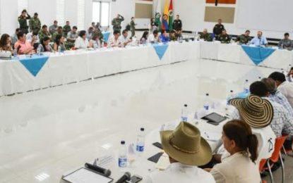 Alcaldes de Casanare presentaron requerimientos al Ministro de Defensa para mejorar la seguridad en sus municipios