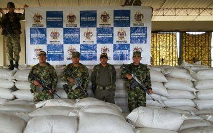 Ejército, Armada Nacional y Policía Aduanera decomisan semilla de arroz de contrabando en el Vichada
