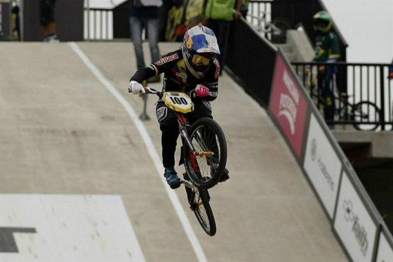 Photo of Mariana Pajón, medalla de oro en Mundial de BMX de Medellín