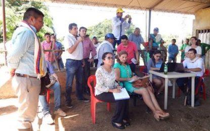 Gobierno Nacional instaló mesa de diálogo con comunidad indígena en Casanare