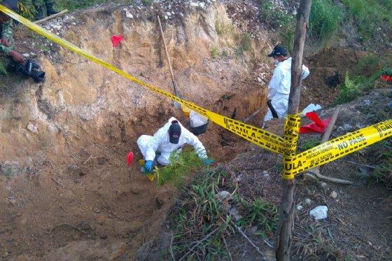 Photo of Fiscalía sigue hallando cadáveres del confeso asesino de Guarne
