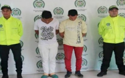 Policía captura en Aguazul a sujetos que se hacían pasar por integrantes de Sijin