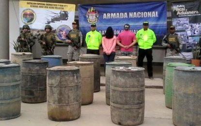 Golpe a las bandas dedicadas al tráfico de combustible en Arauca