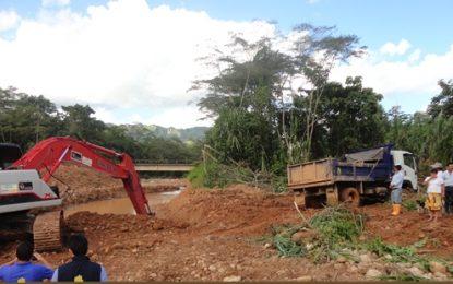 Unidad Departamental para la Gestión del Riesgo en Casanare iniciará labores de remoción de tierra y lodo en La Salina por invierno