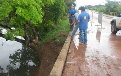 Unidad para la Gestión del Riesgo de Casanare evalúa afectación en puente San Miguel en Orocué
