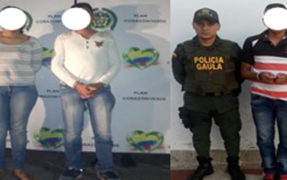 Cae la banda de Los Zorros en operación de la Policía Casanare