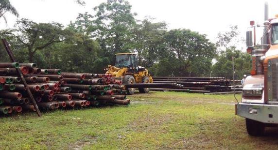 Photo of Ecopetrol entregó tubería para construcción de puente sobre el Río Charte