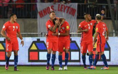 FIFA sancionó a Bolivia y Chile se acerca a Colombia en las eliminatorias