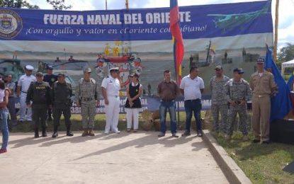 Armada Nacional adelantó Jornada de Atención a población de zona rural de Arauquita