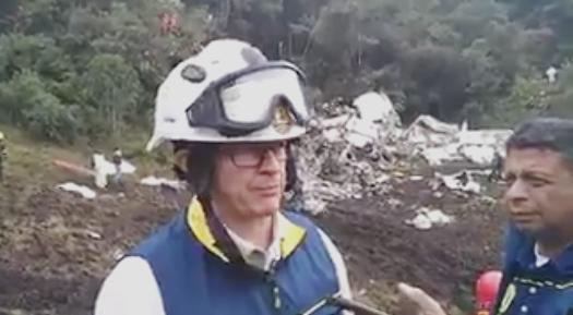 Photo of Termina rescate de cuerpos en tragedia de Chapecoense: hay 71 víctimas mortales