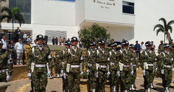 Photo of Magistrados se instalaron en el nuevo Palacio de Justicia de Yopal, listos para impartir ley