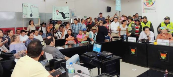 Photo of Frustrado debate a Gran Tierra en el Concejo de Yopal por alteraciones e incomodidad en el recinto