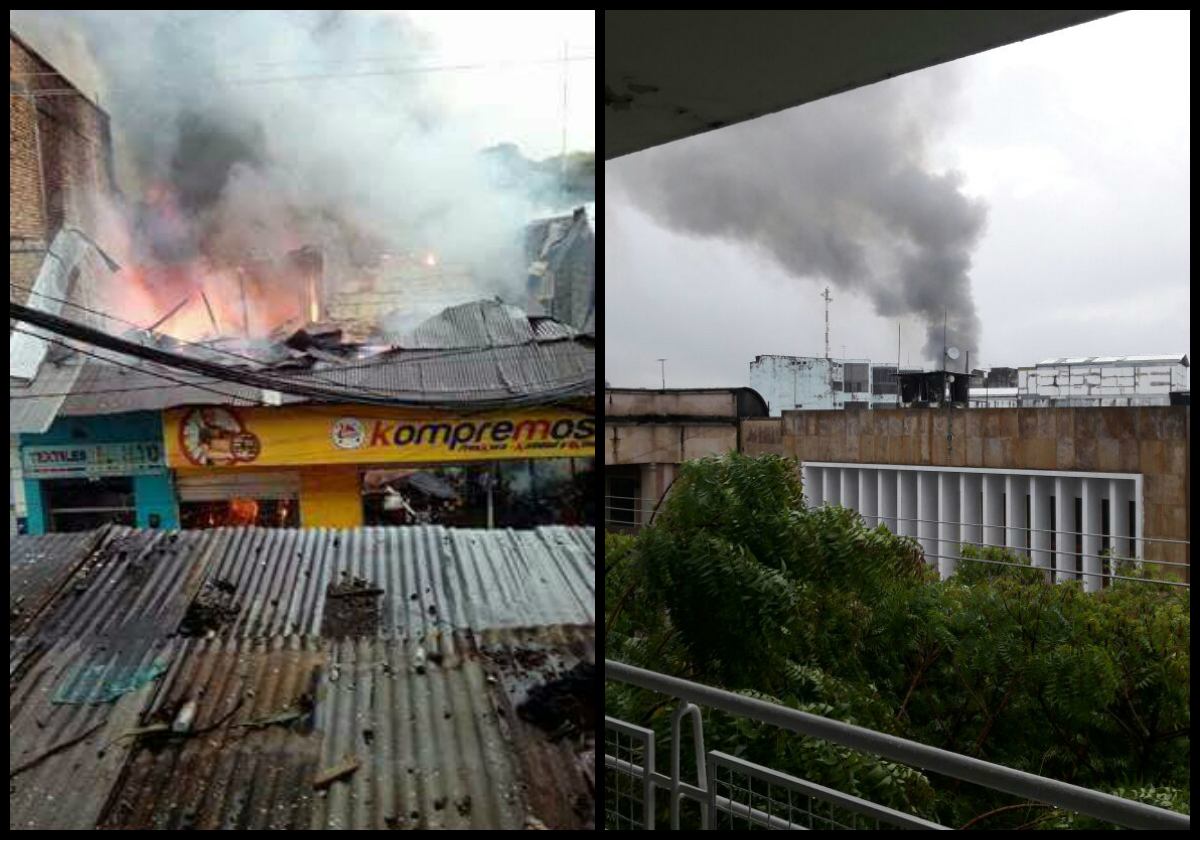 Photo of Girardot empieza el día con incendio