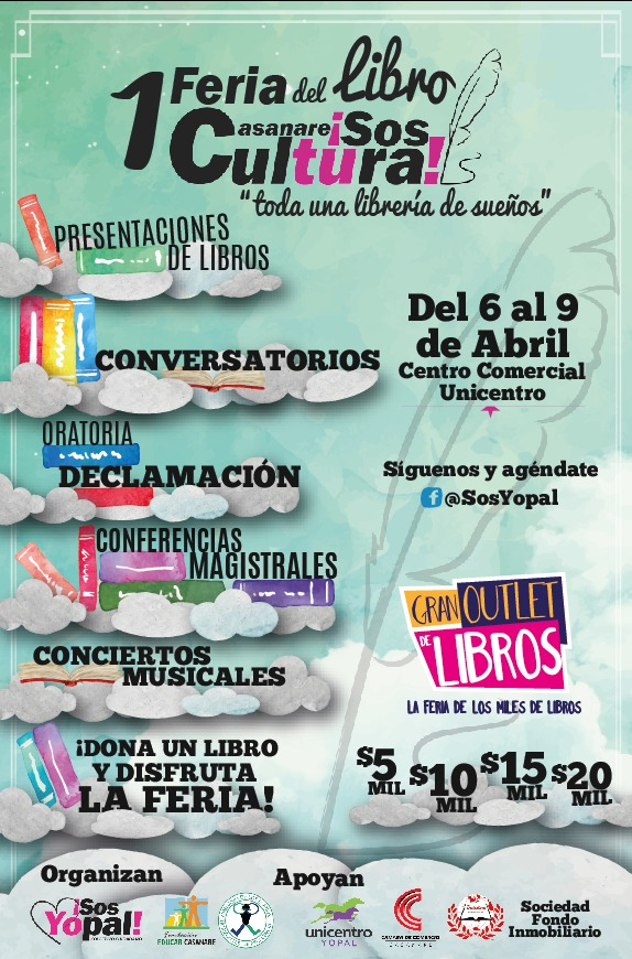 "Photo of ""Primera Feria del Libro- Casanare Sos Cultura"""
