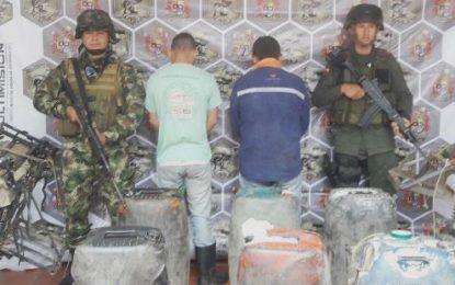 Ejército incauta combustible de contrabando en Saravena – Arauca y zona selvática del Vichada