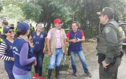 """25 personas, que habitan en el parque """"La Iguana"""", fueron caracterizadas por la administración municipal"""