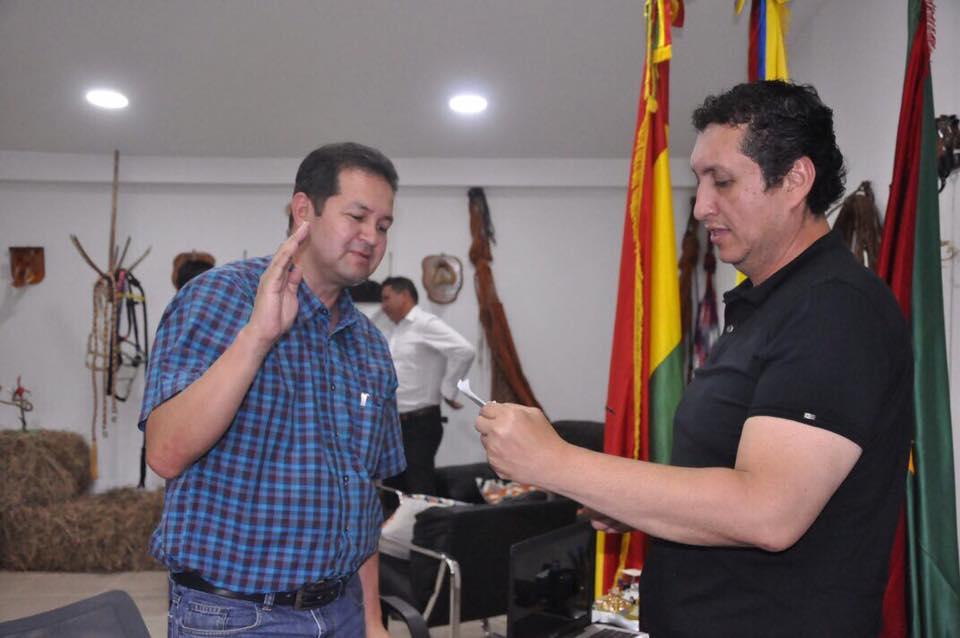 Photo of Se posesiona Registrador especial ante Alcalde de Yopal