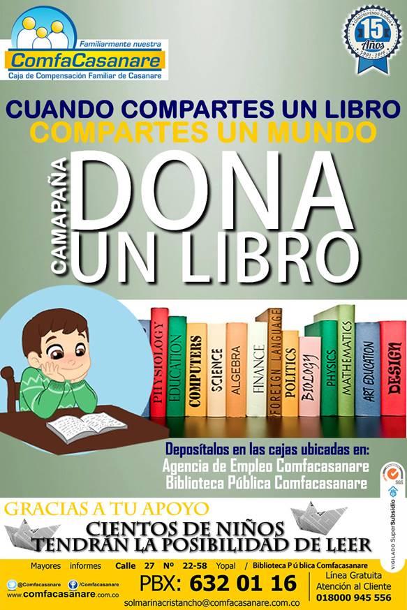 """Photo of Comfacasanare lidera """"GRAN LIBROTÓN"""", para contribuir con la educación de los casanareños"""