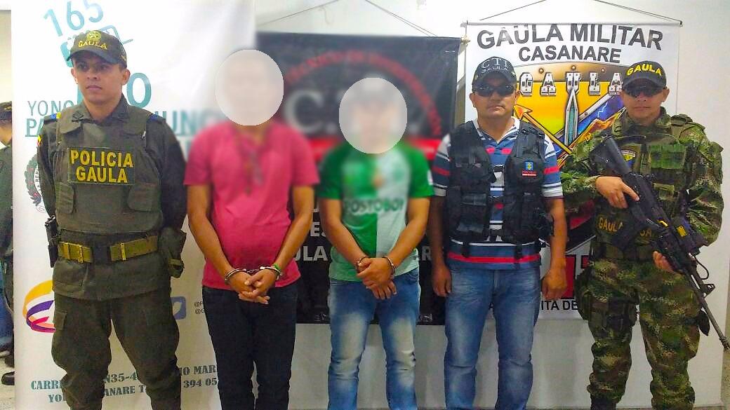 Photo of Capturados presuntos extorsionistas del ELN en Yopal