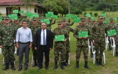 Soldados de Octava División recibirán sueldo con ley de reclutamiento