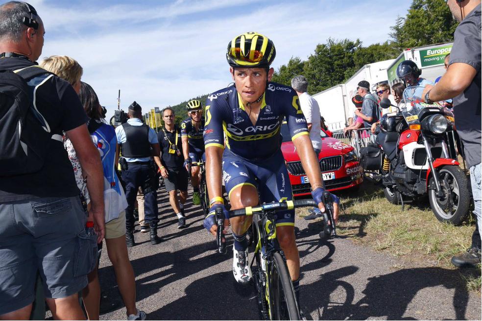 Photo of Chaves continúa a 11 segundos de Froome en la Vuelta a España