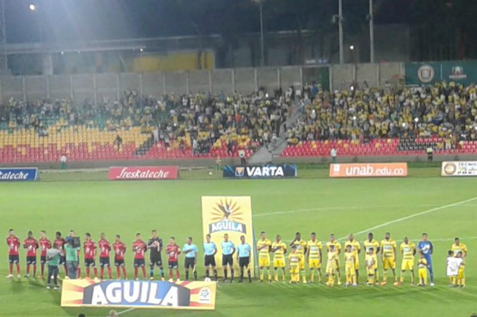 Photo of Bucaramanga y Medellín igualaron en el cierre de la fecha 12