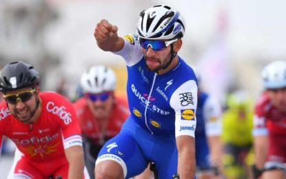 Fernando Gaviria vuelve a ganar en China y aventaja en Tour de Guangxi