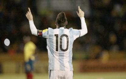 Messi revivió a Argentina