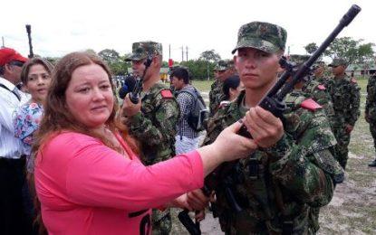 Jóvenes soldados comparten con sus familias en jornada especial en Tauramena