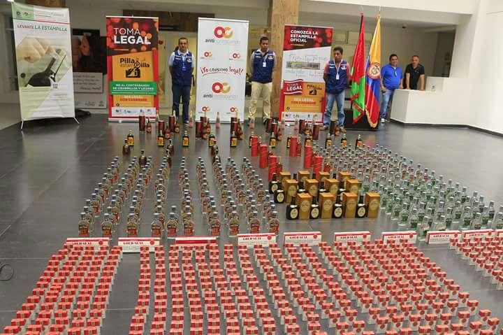 Photo of Licores y cigarrillos fueron incautados en Villanueva Casanare