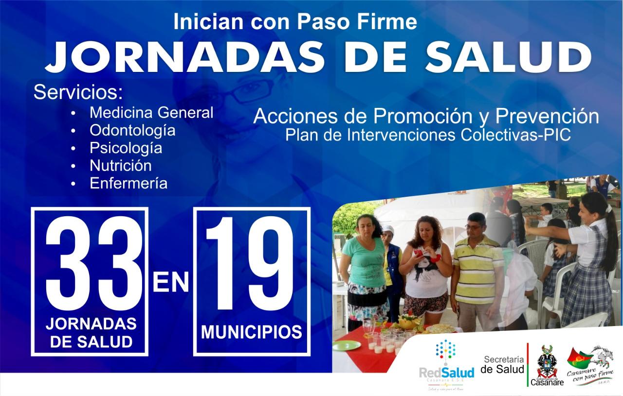 Photo of Inician jornadas de salud en los 19 municipios lideradas por la administración departamental
