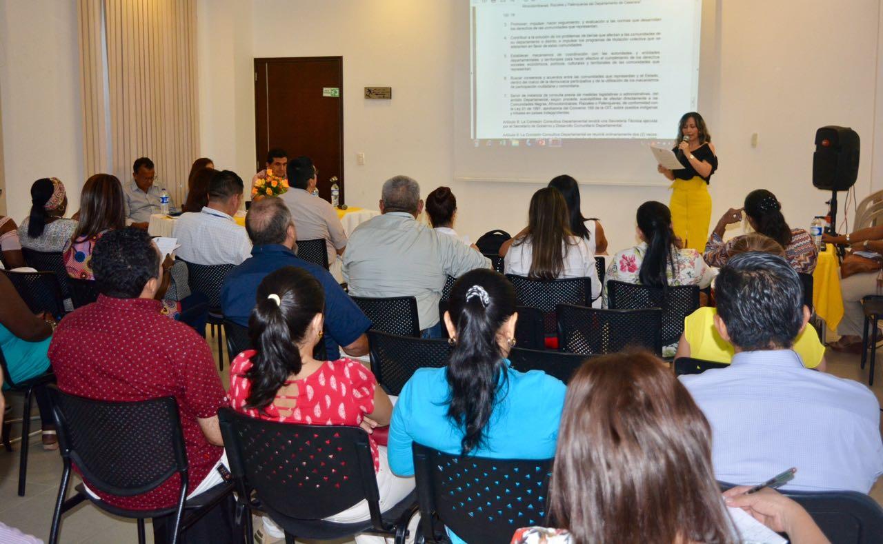 Photo of Ya se posesionó Comisión Consultiva Departamental de comunidades afrodescendientes
