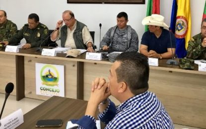 Ministro de Defensa responsabiliza de atentados en Arauca y Casanare a alias Coco del ELN y ofrece recompensa