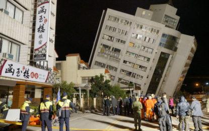 Terremoto en Taiwán: ya son seis los muertos y más de 200 heridos