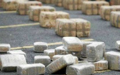 Incautan en Perú 354 kilos de cocaína de propiedad de narcotraficante colombiano