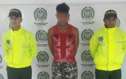 Continúa la ofensiva de la policía Casanare contra la delincuencia común en el departamento