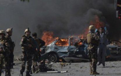 Doble atentado en Kabul: 25 muertos