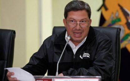 Ecuador: renuncian Mininterior y Mindefensa