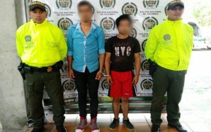 Policía Casanare logra la captura de 3 hombres y la aprehensión de un menor de edad por diferentes delitos