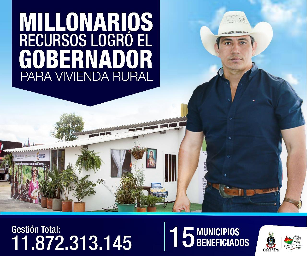 Photo of Gracias al apoyo de la administración departamental más familias campesinas tendrán vivienda nueva