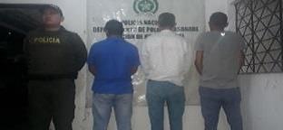 Photo of Policía Casanare logra la captura de cinco personas y un menor de edad aprehendido en la ciudad de Yopal