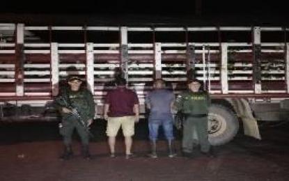 Policía Casanare logra la captura de seis personas por diferentes delitos