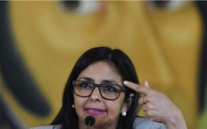 'Vice' venezolana, entre los 11 sancionados por la UE