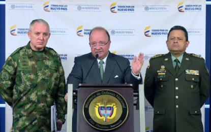 Ministro de Defensa y Fuerzas Militares descartan que disidencias quieran refundar las Farc