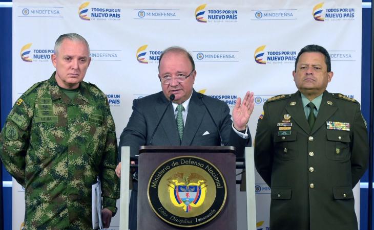 Photo of Ministro de Defensa y Fuerzas Militares descartan que disidencias quieran refundar las Farc