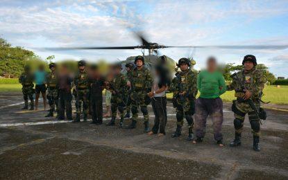 Duro golpe a las estructuras de la Disidencia de las Farc en Arauca en acción conjunta