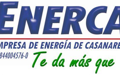 Conozca los municipios de Casanare en los que Enerca suspenderá el servicio de gas natural domiciliario, para este viernes 03 de julio